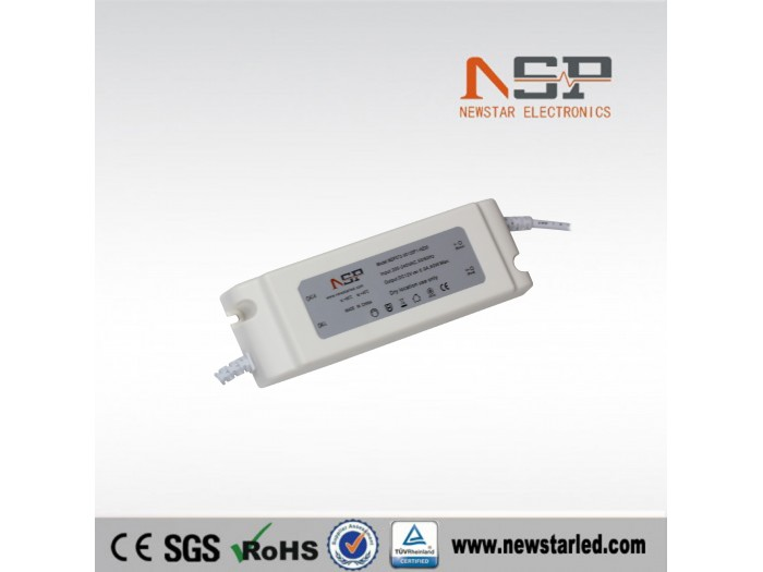 60W Constant voltage LED power supply plastic case